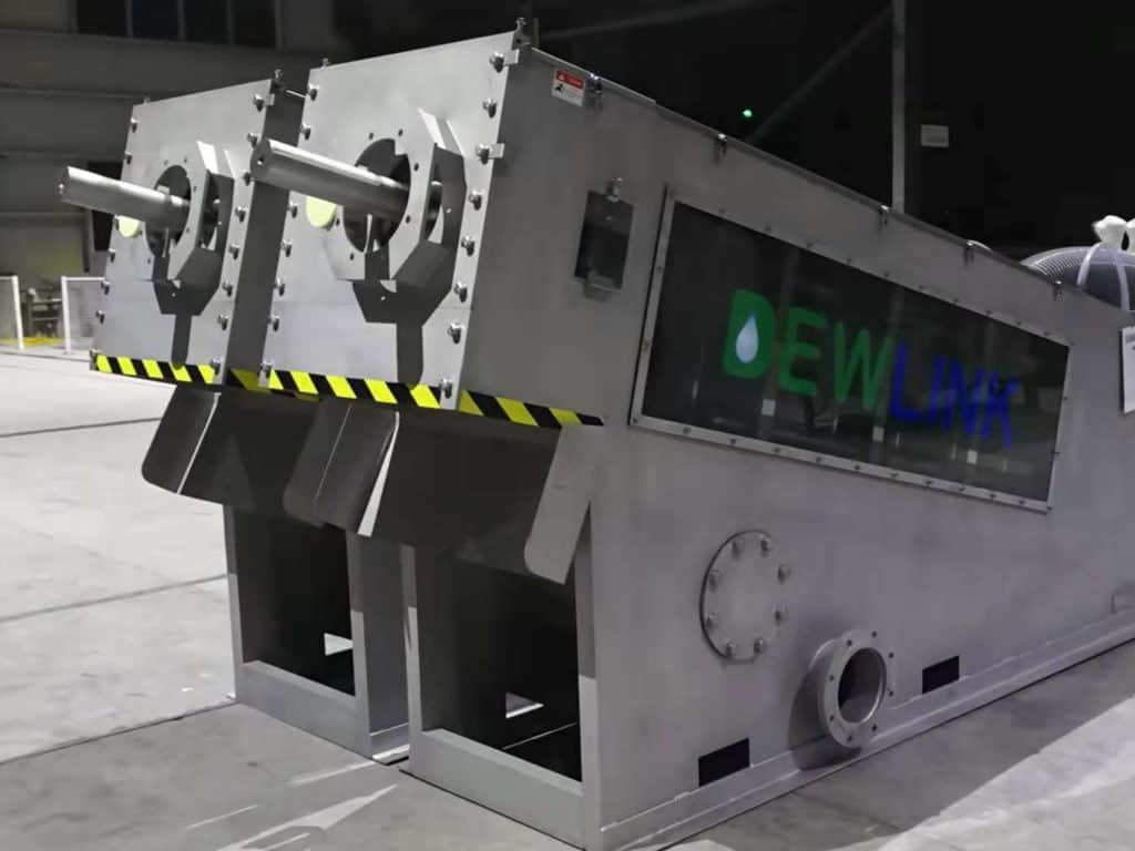 DSM 502 sludge dewatering screw press