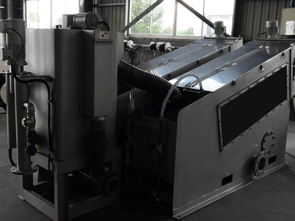 Screw press swingmill system