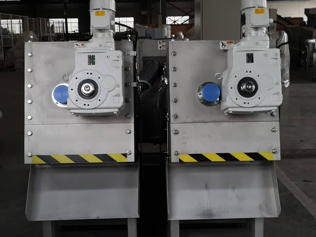 twin Screw press