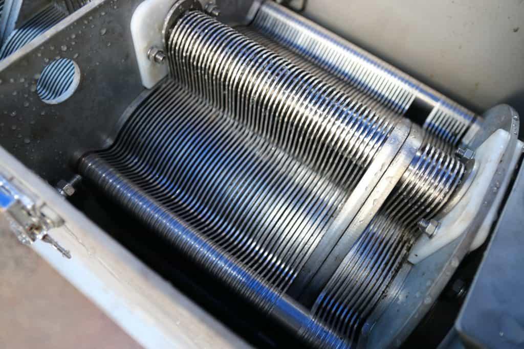 Moving rings Mini sludge dewatering system