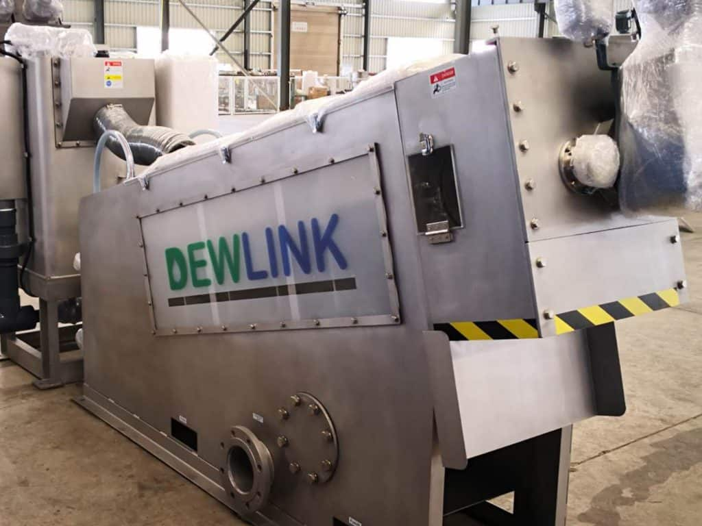 501 sludge dewatering screw press