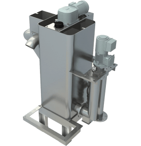 Flocculation tank mixer