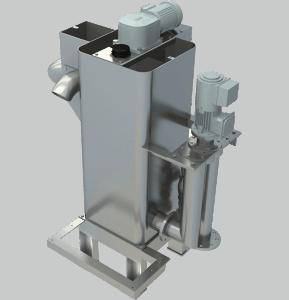 Flocculation tank mixer