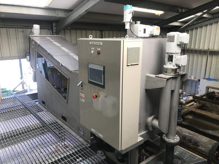 Swingmill screw press