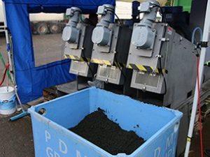 Swingmill sludge dewatering screw press