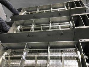triple sludge dewatering screw press