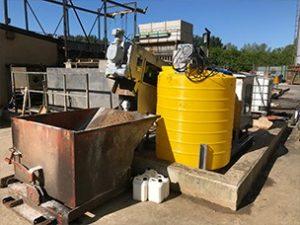 CAF Sludge dewatering